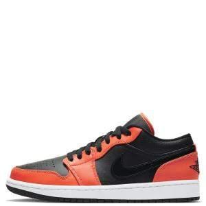 Nike Jordan 1 Low Turf Orange Sneakers Size US 8 EU 41