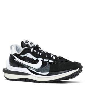 Nike Sacai Vaporwaffle Black Sneakers Size US 9 EU 42.5