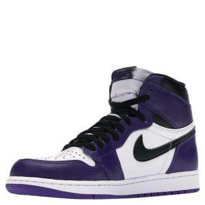 Nike Jordan 1 High Purple Court 2.0 Sneakers Size (US 8) EU 41