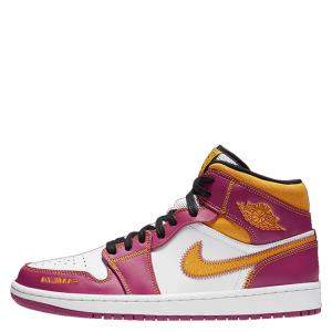 Nike Jordan 1 Mid Dia De Los Muertos Sneakers Size (US 8.5) EU 42