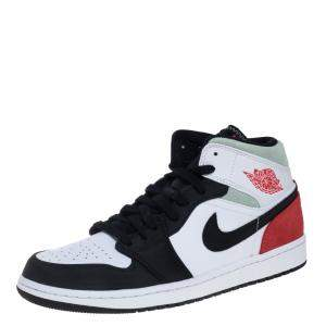 Nike Jordan 1 Mid Union Red Sneakers Size EU 43 (US 9.5)