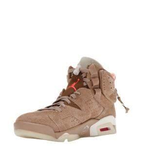Nike Jordan 6 Travis Scott British Khaki Sneakers Size US 9.5 (EU 43)