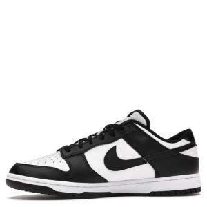 Nike Dunk Low White Black Sneakers Size US 9 (EU 42.5)
