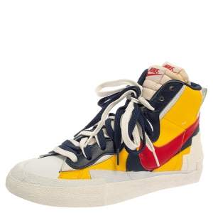 Nike x Sacai Multicolor Leather High Top Sneaker Size 42.5