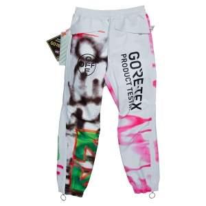 Off-White Multicolor Graffiti Print Goretex Pants XXS
