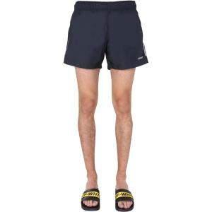 Off-White Black Bermuda Shorts Size M