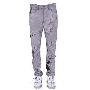 Off-White Multicolor Slim Fit Jeans Size 32
