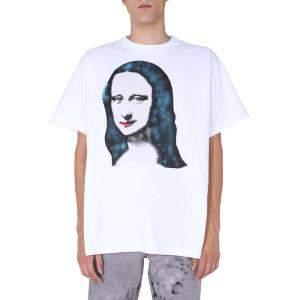 Off-White White Monalisa S/S T-Shirt Size S