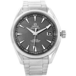 Omega Grey Stainless Steel Seamaster Aqua Terra Co-Axial 231.10.42.21.06.001 Men's Wristwatch 41.5MM