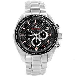 Omega Black Stainless Steel Speedmaster Legend 321.30.44.50.01.001 Men's Wristwatch 44.25MM
