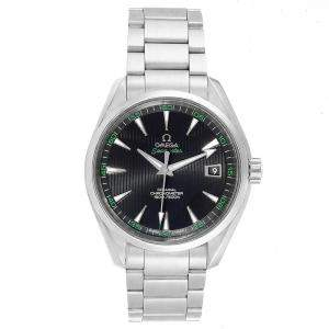 Omega Black Stainless Steel Seamaster Aqua Terra Co-Axial 231.10.42.21.01.001 Men's Wristwatch 41.5 MM