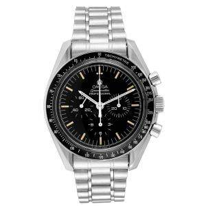 Omega Black Stainless Steel Speedmaster MoonWatch Caliber 861 Men's Wristwatch 42 MM