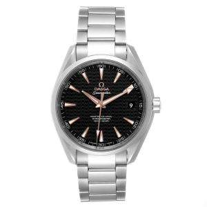 Omega Black Stainless Steel Seamaster Aqua Terra 231.10.42.21.01.006 Men's Wristwatch 41 MM