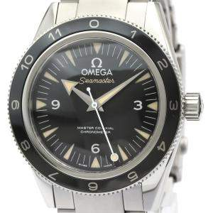Omega Black Stainless Steel Seamaster 300 Spectre 233.32.41.21.01.001 Men's Wristwatch 41MM