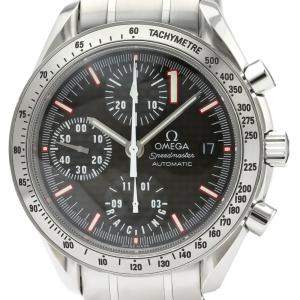 Omega Carbon Stainless Steel Speedmaster Racing Michael Schumacher 3519.50 Men's Wristwatch 39MM