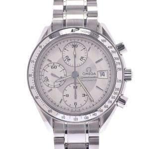ساعة يد رجالية أوميغا سبيد ماستر ديت أوتوماتيك 3513.30 ستانلس ستيل فضية 39 مم