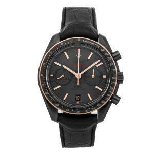 ساعة يد رجالية أوميغا سبيدماستر 311.63.44.51.06.001  مون ووتش كرونوغراف سيراميك سوداء 44 مم