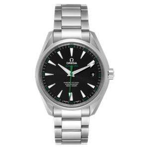 Omega Black Stainless Steel Seamaster Aqua Terra Golf Edition 231.10.42.21.01.004 Men's Wristwatch 41.5 MM