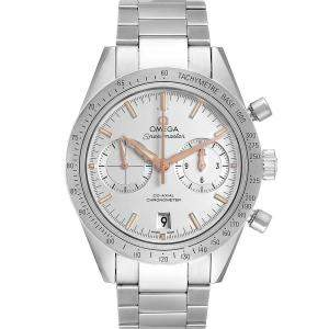 Omega Silver Stainless Steel Speedmaster Chronograph 331.10.42.51.02.002 Men's Wristwatch 42.5 MM