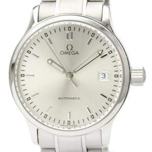 Omega Silver Stainless Steel Classic Automatic 5203.30 Men's Wristwatch 36 MM
