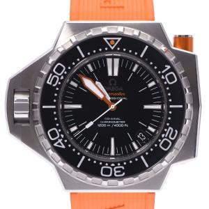 """ساعة يد رجالية أوميغا """"سياماستر بروبروف 224.32.55.21.01.002 أوتوماتيك"""" ستانلس ستيل سوداء 54 مم"""