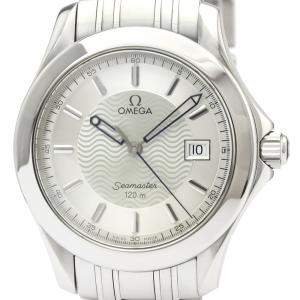 Omega Silver Stainless Steel Seamaster 120M Quartz 2511.31 Men's Wristwatch 36 MM