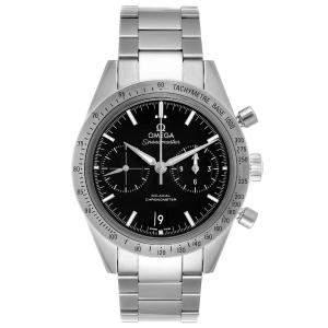"""ساعة يد رجالية أوميغا """"سبيدماستر 57 كو-اكسيال كرونوغراف 331.10.42.51.01.001"""" ستانلس ستيل سوداء 41.5 مم"""