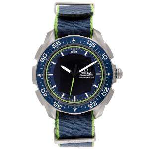 Omega Blue Titanium Speedmaster Skywalker X-33 Solar Impulse 318.92.45.79.03.001 Men's Wristwatch 45 MM