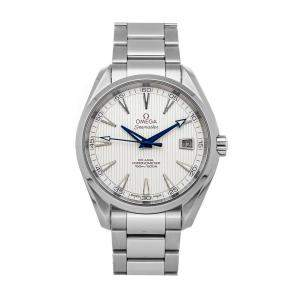 Omega Silver Stainless Steel Seamaster Aqua Terra 150m 231.10.42.21.02.002 Men's Wristwatch 41.5 MM