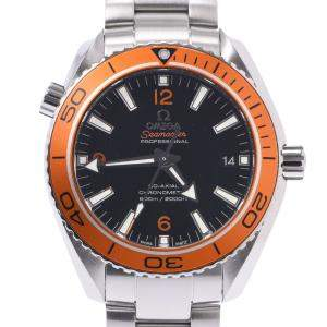 Omega Black Stainless Steel Seamaster Ocean 232.30.42.21.01.002 Men's Wristwatch 42 MM