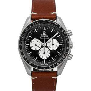 "Omega Black Stainless Steel Speedmaster Moonwatch ""Speedy Tuesday"" Anniversary Limited Series 311.32.42.30.01.001 Men's Wristwatch 42 MM"