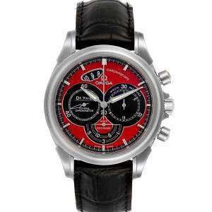 Omega Red Stainless Steel De Ville Chronoscope Co-Axial 4851.61.31 Men's Wristwatch 41MM