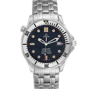 Omega Blue Stainless Steel Seamaster James Bond 2532.80.00 Men's Wristwatch 41 MM