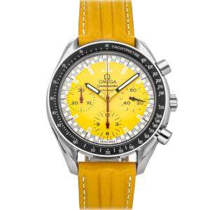 Omega Yellow Stainless Steel Speedmaster 3810.12.40 Men's Wristwatch 39 MM