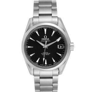 Omega Black Stainless Steel Seamaster Aqua Terra 150m 231.10.39.21.01.001 Men's Wristwatch 39 MM