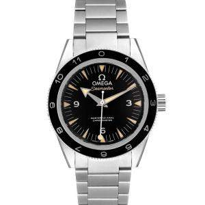 Omega Black Stainless Steel Seamaster 300 Spectre Limited Edition 233.32.41.21.01.001 Men's Wristwatch 41MM