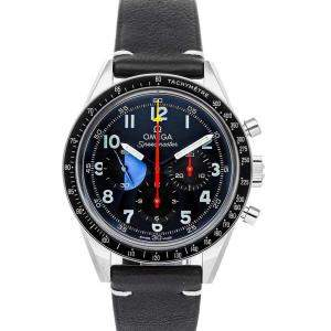 Omega Black Stainless Steel Speedmaster Moonwatch 10th Anniversary Hodinkee 311.32.40.30.06.001 Men's Wristwatch 40 MM