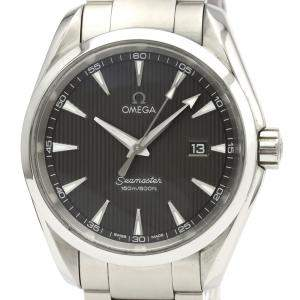 Omega Grey Stainless Steel Seamaster Aqua Terra 231.10.39.60.06.001 Men's Wristwatch 39 MM