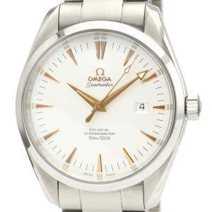 Omega Silver Stainless Steel Seamaster Automatic 2502.34 Men's Wristwatch 42 MM