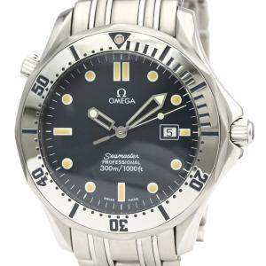 Omega Blue Stainless Steel Seamaster Professional 300M 2542.80 Men's Wristwatch 41 MM