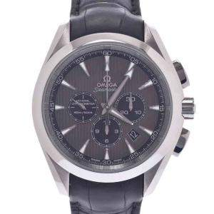 Omega Grey Stainless Steel Seamaster 150 Co-Axial Aqua Terra 231.13.44.50.06.001 Men's Wristwatch 43 MM