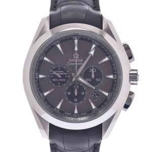 ساعة يد رجالية أوميغا سيماستر 150 كو-اكسيال اكوا تيرا 231.13.44.50.06.001 ستانلس ستيل رصاصية 43 مم
