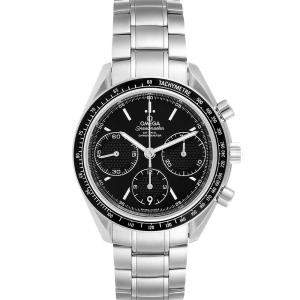 Omega Black Stainless Steel Speedmaster Racing 326.30.40.50.01.001 Men's Wristwatch 40 MM