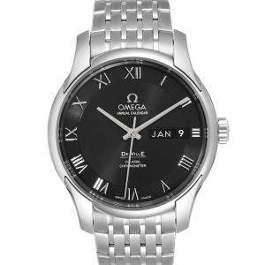 Omega Black Stainless Steel DeVille 431.10.41.22.01.001 Men's Wristwatch 41 MM