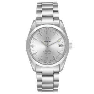 Omega Silver Stainless Steel Seamaster Aqua Terra 2504.30.00 Men's Wristwatch 36 MM