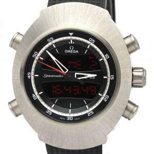 Omega Black Titanium Speedmaster Spacemaster Z-33 325.92.43.79.01.001 Men's Wristwatch 43 MM