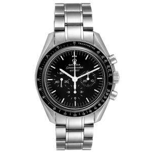 Omega Black Stainless Steel Speedmaster 50th Anniversary Limited Edition MoonWatch 311.33.42.50.01.001 Men's Wristwatch 42 MM
