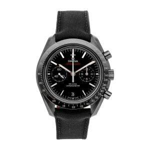 Omega Black Ceramic Speedmaster Moonwatch Dark Side of the Moon 311.92.44.51.01.003 Men's Wristwatch 44 MM