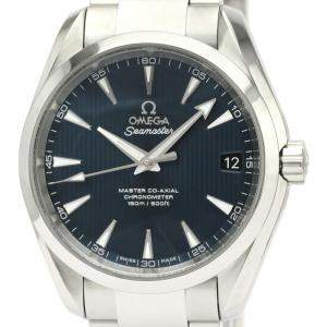 Omega Blue Stainless Steel Seamaster Aqua Terra Co-Axial 231.10.39.21.03.001 Men's Wristwatch 39 MM