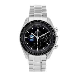 """ساعة يد رجالية أوميجا سبيد ماستر بروفيشنال مونوتش """" سنوفى"""" إصدار محدود 3578.51.00 ستانلس ستيل 42 مم"""